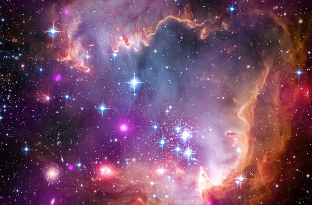 colorful in universe